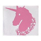 zombie-unicorn_pk.png Throw Blanket