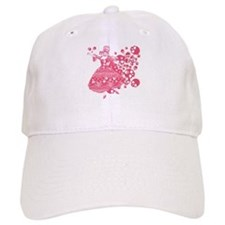Pink Skull Dancer Baseball Cap