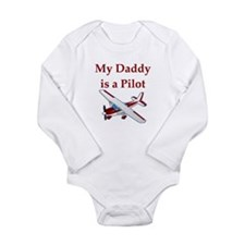 My Daddy Is A Pilot Body Suit