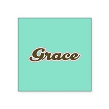 Grace Aqua Sticker