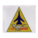 F-111 Aardvark Throw Blanket