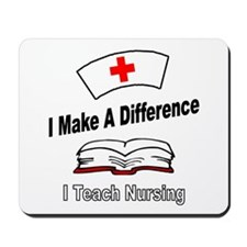 Cute Nurse instructors Mousepad
