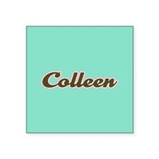 Colleen Aqua Sticker