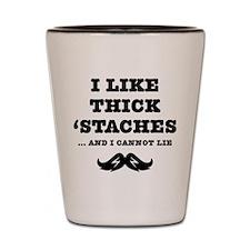 Thick Mustache Shot Glass
