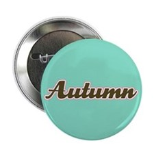 "Autumn Aqua 2.25"" Button (10 pack)"