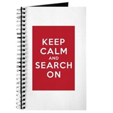 Keep Calm and Search On (Basic) Journal