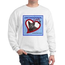 Poppy Unconditional Love - Blue Sweatshirt
