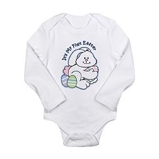 Bunny 1st Easter Long Sleeve Infant Bodysuit