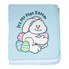 Bunny 1st Easter baby blanket