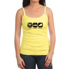 Eat, Sleep, Cheer Tank Top