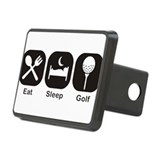 Eat, Sleep, Golf Hitch Cover