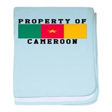 Property Of Cameroon baby blanket
