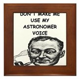 astronomer Framed Tile