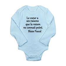 Coeur Pascal Long Sleeve Infant Bodysuit