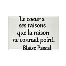 Coeur Pascal Rectangle Magnet (10 pack)