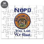 NOPD You Loot We Shoot Puzzle