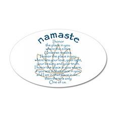Namaste Wall Decal