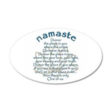 Namaste Wall Decal