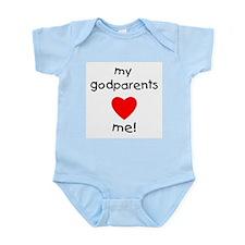 My Godparents Love Me Infant Body Suit