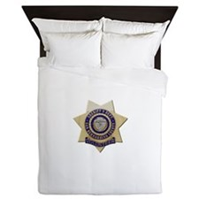 San Bernardino Volunteer Queen Duvet