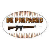 BE PREPARED Decal
