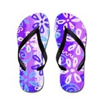 Painted Flowers, Flip Flops