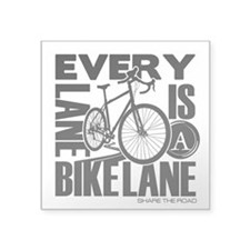 Every Lane Is A Bike Lane Sticker