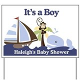 Haleighs Baby Shower Sign Yard Sign