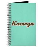 Kamryn Aqua Journal