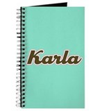 Karla Aqua Journal