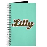 Lilly Aqua Journal