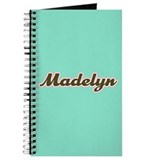 Madelyn Aqua Journal