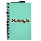 Makayla Aqua Journal