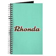 Rhonda Aqua Journal