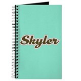 Skyler Aqua Journal