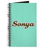 Sonya Aqua Journal