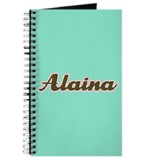 Alaina Aqua Journal