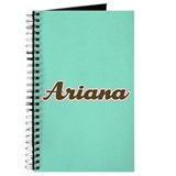 Ariana Aqua Journal