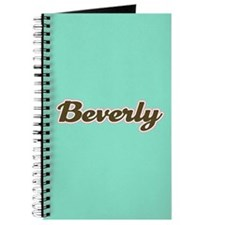 Beverly Aqua Journal