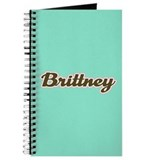 Brittney Aqua Journal