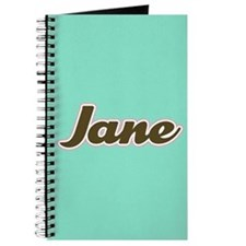 Jane Aqua Journal