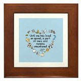 Cute Remains Framed Tile