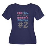 Mommy's Expecting #2 Plus Size T-Shirt