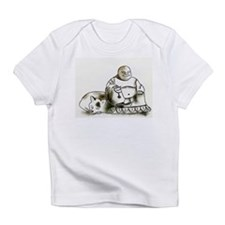 Unique Meditating buddha Infant T-Shirt