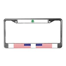 Irish lucky charm License Plate Frame
