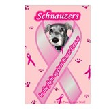 Schnauzer items Postcards (Package of 8)