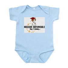 Mission Impawsible Dog Training Logo Body Suit
