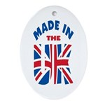 Made In The UK Oval Ornament