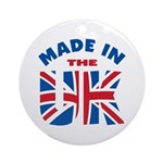 Made In The UK Ornament (Round)