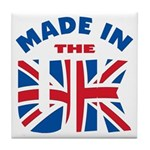 Made In The UK Tile Coaster